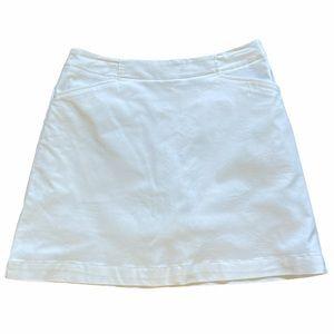 Nike White Golf Skirt size 6